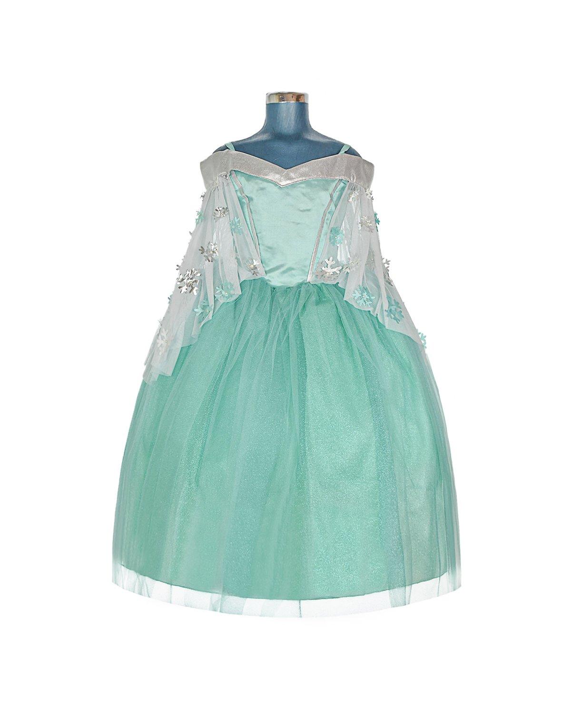 Vestido de Niña Modelo Princesa Azul